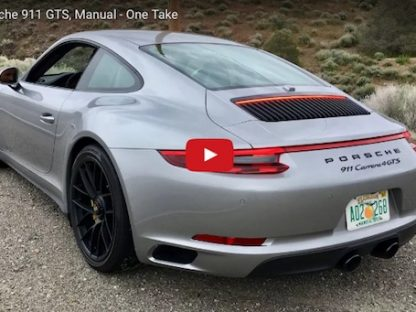 Matt Farah Drives the 2017 Porsche 911 Carrera 4 GTS