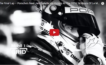 Neel Jani on his 2016 Le Mans Victory