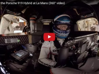Take a Hot Lap with Marc Lieb in a 919 at Le Mans