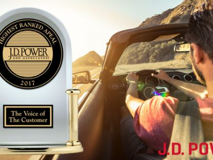 It's Lucky Number 13 for Porsche in the J.D. Power APEAL Study