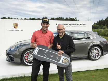 Watch Pro Golfer Marcel Siem Win a Panamera Turbo Sport Turismo With Amazing Hole-in-One