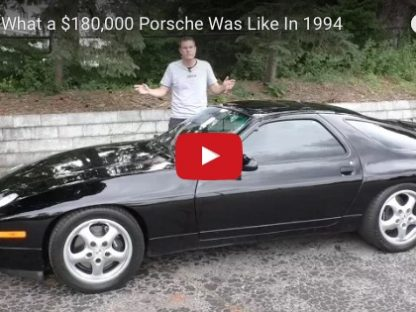 What Kind of Porsche Could you Buy for $180k Twenty Five Years Ago?
