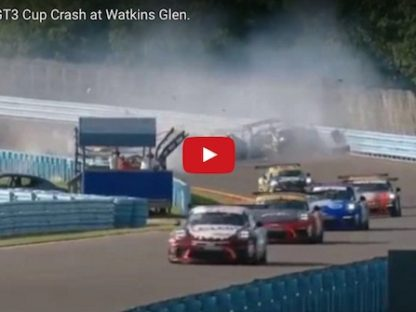IMSA Forced to Abandon GT3 Cup Race at Watkins Glen After Massive Crash