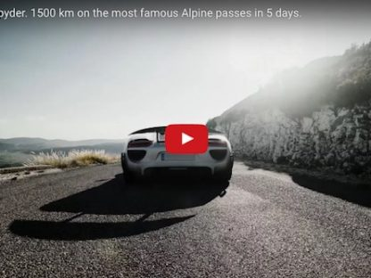 Nineteen 918 Spyders Tackle 1500 km of the most famous Alpine Passes in 5-Days