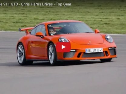 Watch Chris Harris Destroy Yet Another Set of Tires. This Time on the 991.2 GT3