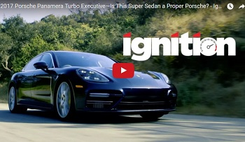 Is The Panamera a Proper Porsche? Why Yes It Is, Jonny Lieberman.