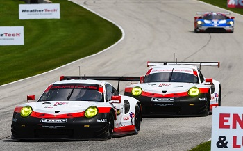 Porsche's Results and Pictures in the IMSA Weathertech Sportscar Championship at Road America