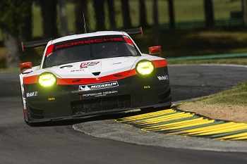 Porsche's Pictures and Results In the USCC at VIR