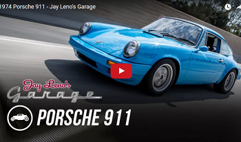 Jay Leno Drives Workshop 5001's 911s