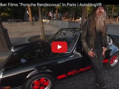 Magnus Walker's Rendezvous in a '72 RS