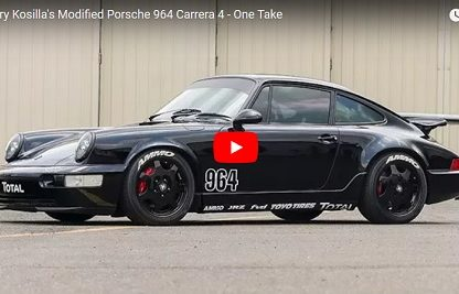 Driving Larry Kosilla's Modified 964 Carrera 4