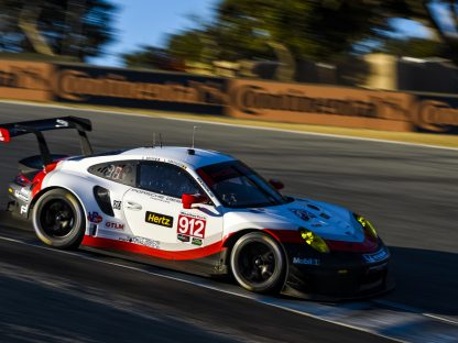PORSCHE'S Results and Pictures in the IMSA Weathertech Sports Car Challenge at LAGUNA SECA 2017