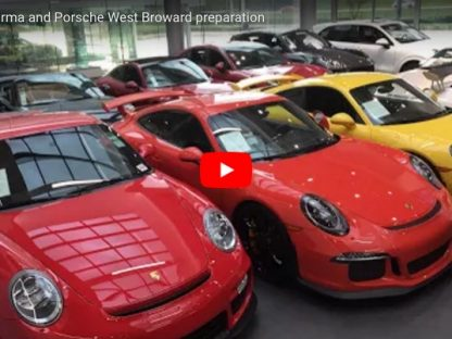 This is How One Porsche Dealer In South Florida is Preparing for Irma