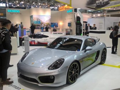 Porsche's Newest Electric Concept is a Cayman. Capable of 62 MPH in 3.3 Seconds.