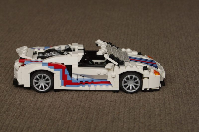how to build lego porsche
