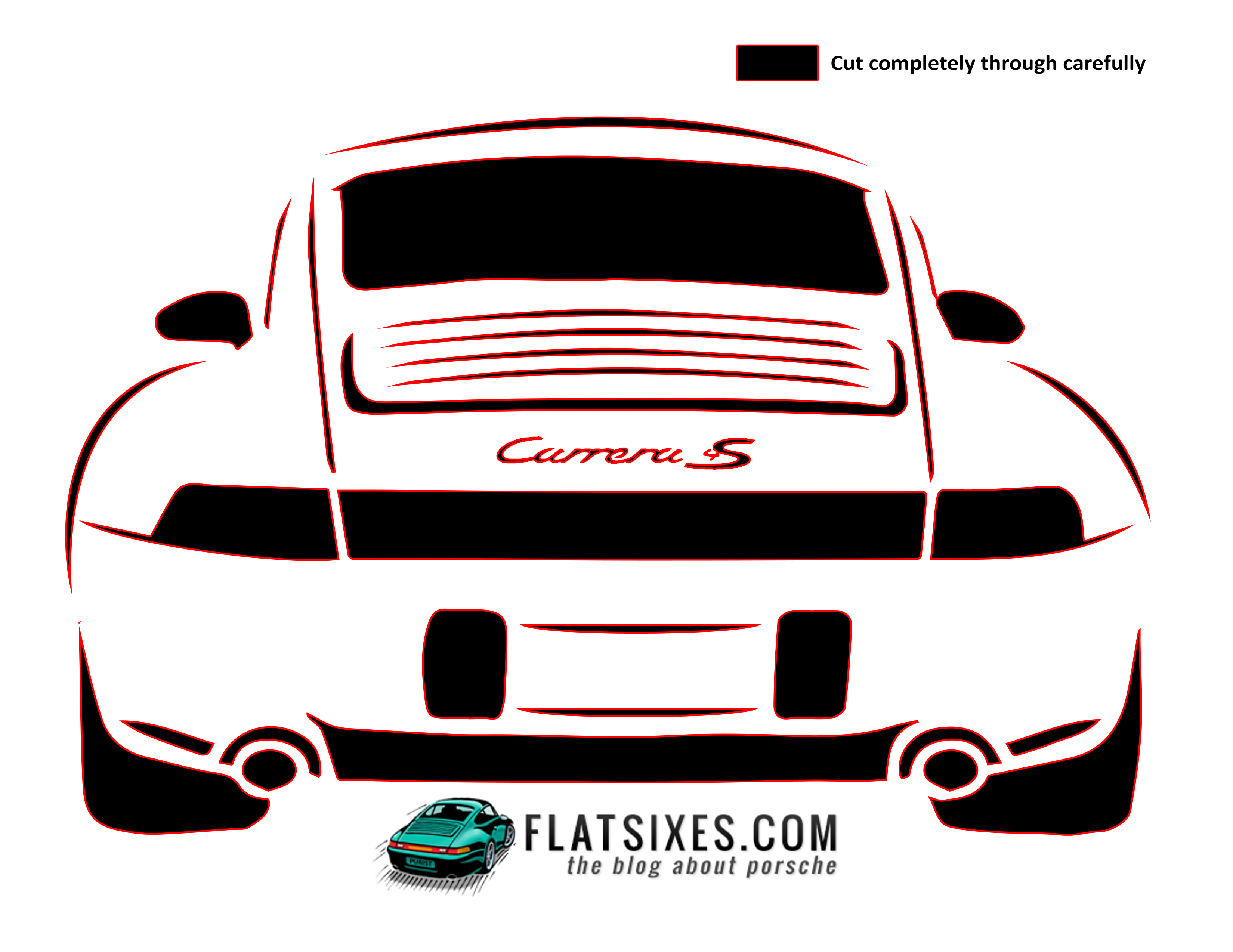We created a couple of new Porsche Pumpkin carving templates for ...