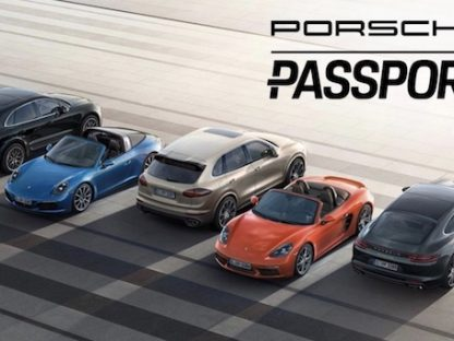Passport Program Lets you Swap New Porsches On Demand