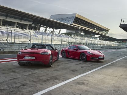 Revealed: The 718 Boxster and Cayman GTS