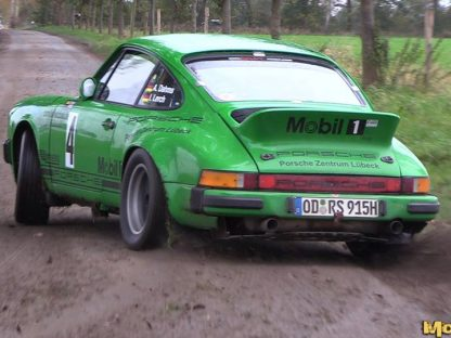 Watch This Classic 911 Drift Acrobatically on the Rally Stage