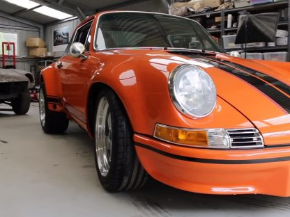 Watch This Guy Restore The Porsche Of His Dreams In Just 4 Minutes