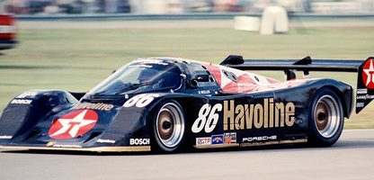 An Indycar Driver's Take on the Porsche 962