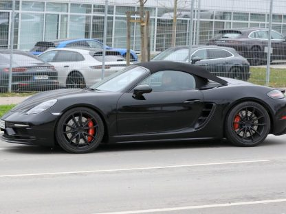 New Porsche 718 Boxster Spied In Stuttgart