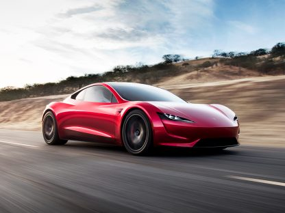 Is Tesla's New Roadster 2 A Preview Of What An Electric Porsche 911 Could Be?