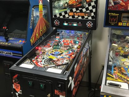 Porsche-Themed 'Checkpoint' Pinball Cabinet For Sale On eBay