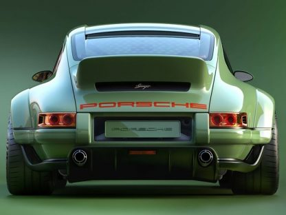 Singer And Williams Team For New Reimagined Lightweight Widebody 911