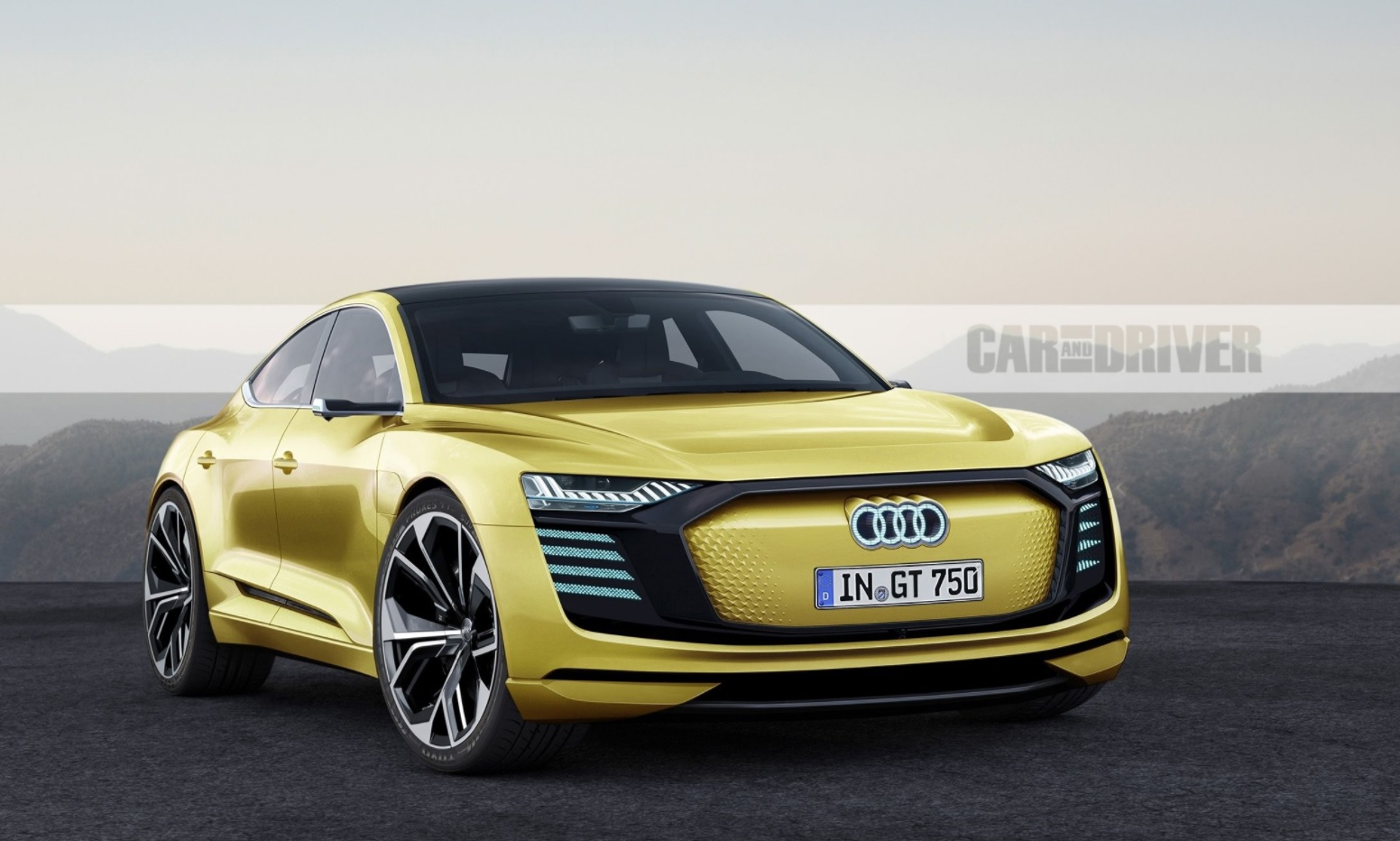 report audi is preparing their own mission e based electric sports sedan flatsixes. Black Bedroom Furniture Sets. Home Design Ideas