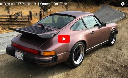 Matt Farah Buys a 911 Carrera 3.2. It's Purple!