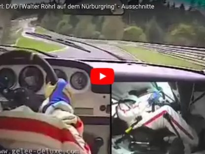 Walter Röhrl Elegantly Drifts a 911 S at a Rainy Nürburgring