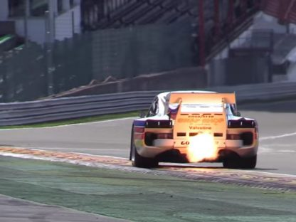 The Flame Spitting Sights And Sounds Of Porsche 935