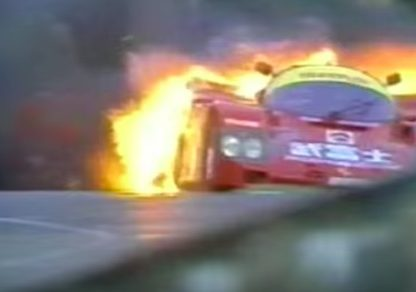 Dominic Dobson's 962 Burns at Le Mans