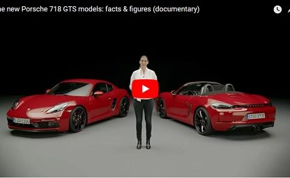 Take A Deeper Dive Inside the 718 Boxster and Cayman GTS Models