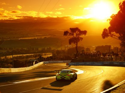 Late Race Caution Costs Porsche Bathurst 12 Hour Victory