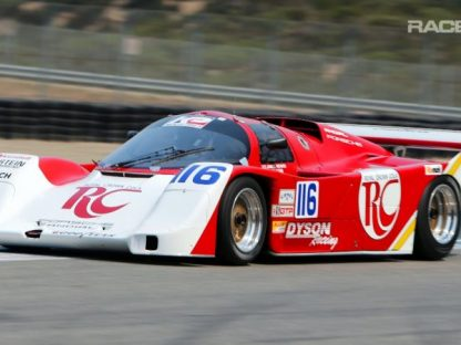 Porsche 962 Wastegate Nirvana at Laguna Seca