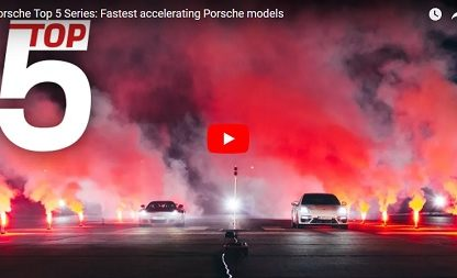 An Exercise In Traction: The Top 5 Fastest Accelerating Porsches