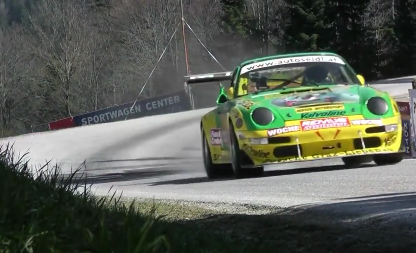 Watch This '88 Carrera Deploy 650 Horsepower on the Hillclimb