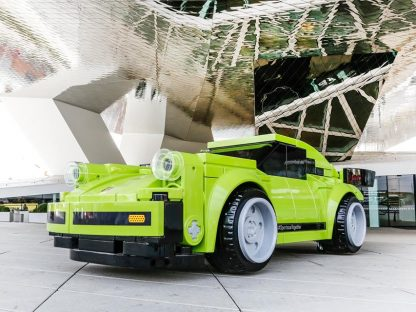 Porsche Built A Wonky Full-Sized 911 Turbo Out Of LEGO