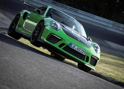 Ride Onboard the GT3 RS That Just Set a Lap Record at the Nürburgring
