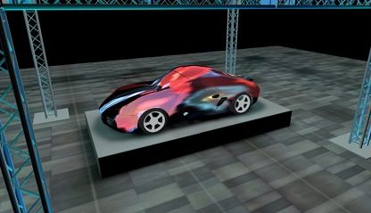 Porsche-Based Interactive Art Exhibit To Be Unveiled Next Week In San Francisco