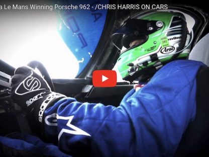 Chris Harris Meets Norbert Singer and Tests a Le Mans-Winning 962