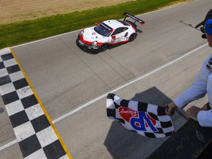Porsche's Pictures And Results From The IMSA Race At Mid Ohio