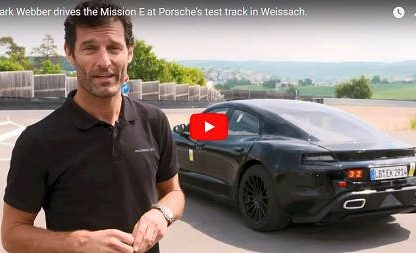 "Mark Webber Says The Mission E is a ""Game Changer"""