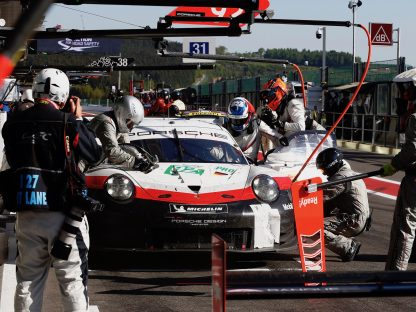 Porsche's Pictures and Results From The 6 Hours Of Spa Francorchamps