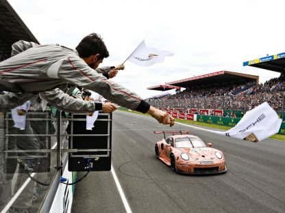 Porsche 911 RSR Takes Stunning And Dominant 24 Hours Of Le Mans Double GT Victory