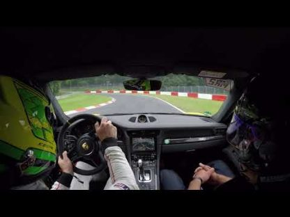 Kevin Estre Flogs the 991.2 GT3 RS Around the Nurburgring
