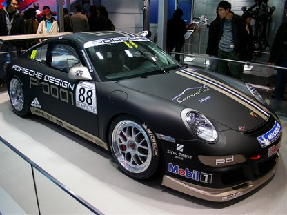 Is Flat Black the new Black for Porsche?