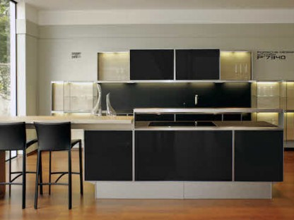 Porsche Design Kitchen.  Can you Cook in a Porsche?